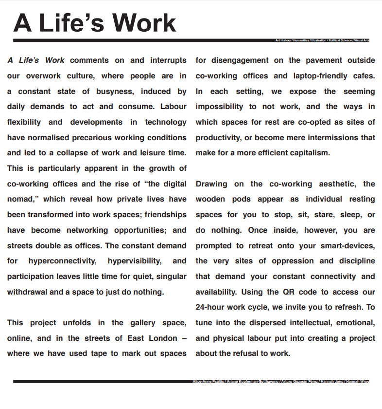 A life_s work